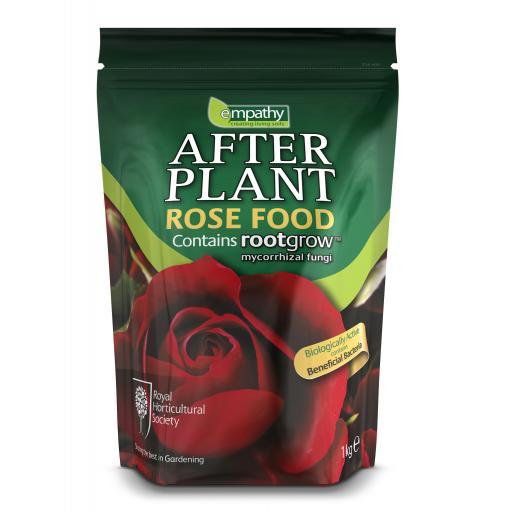 After Plant Rose Food, with mycorrhizal fungi - Empathy